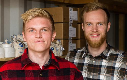 Alexander Overgaard og Jacob Juul er ejerne bag Flaky.dk